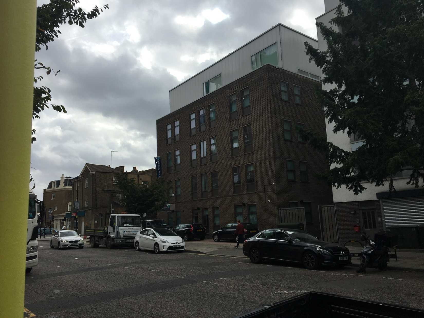 View of Hackney New School 2