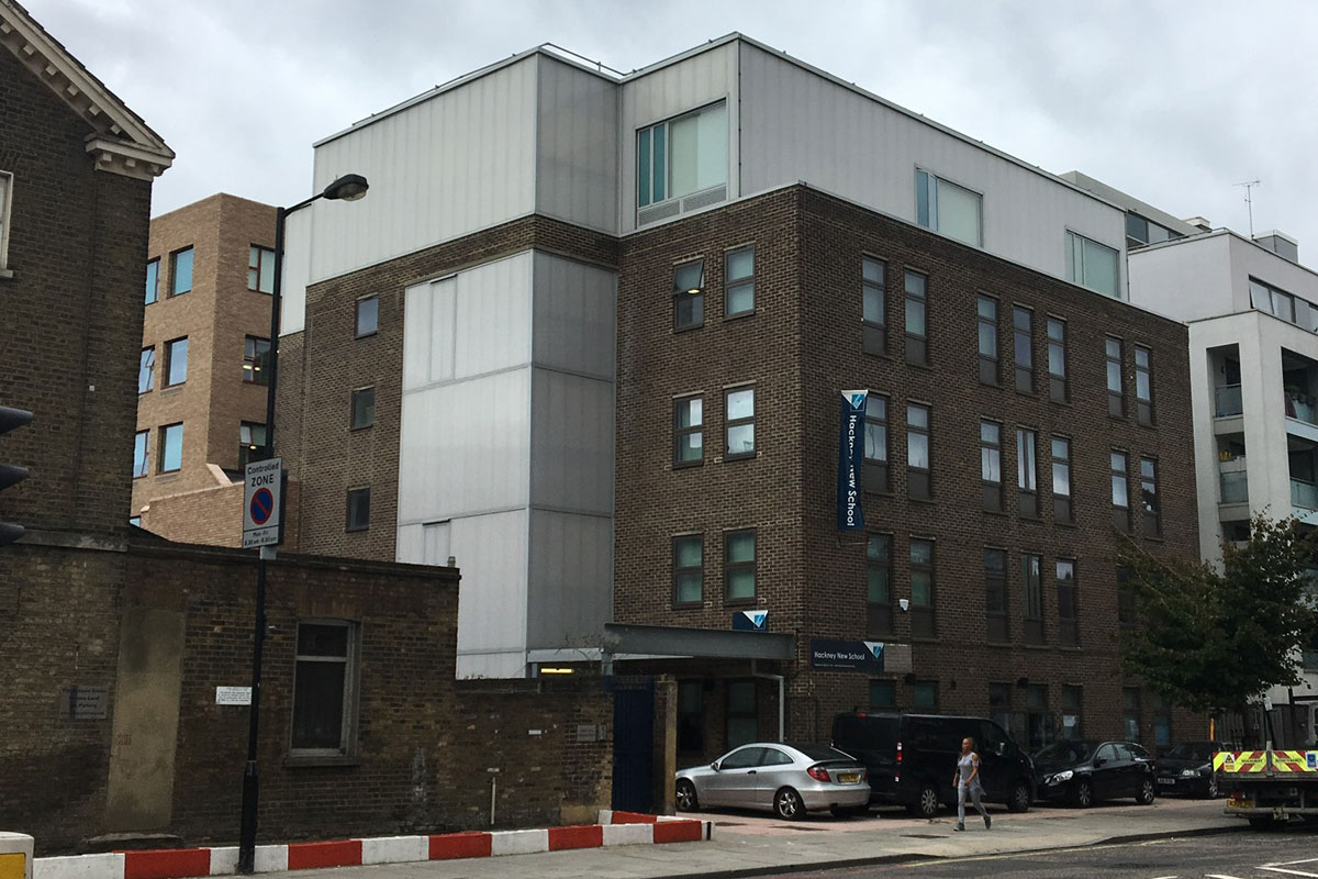 View of Hackney New School 1